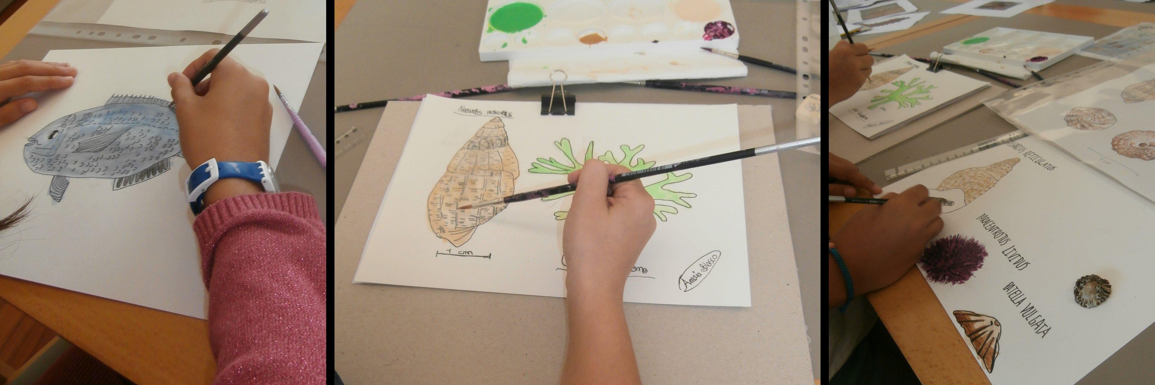 Fotografia de dibujos de niños