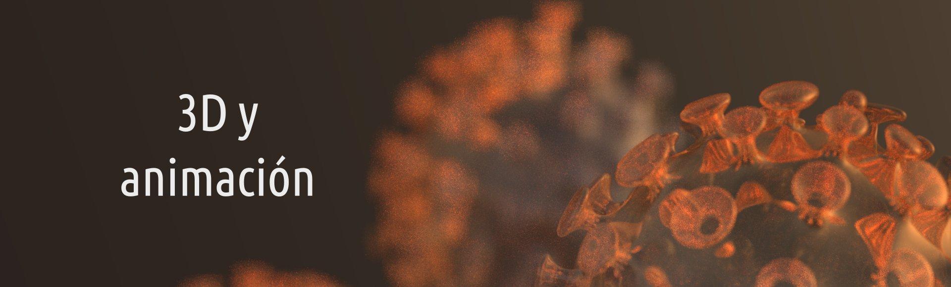Ilustración 3D de coronavirus sars cov 2