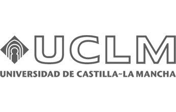logo de universidad de Castilla-La Mancha. Clientes de NorArte - Visual Science