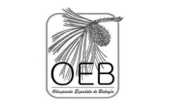 Logo de OLIMPIADAS ESPAÑOLAS DE BIOLOGÍA. Clientes de NorArte - Visual Science