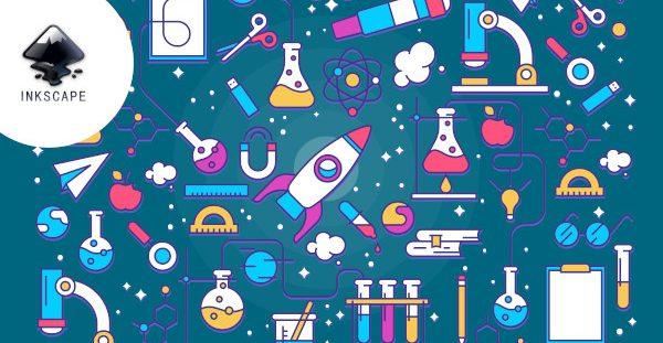Portada del curso 'usos básicos de INKSCAPE para publicaciones científicas'