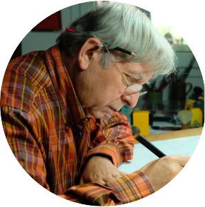 Carles Puche ilustratzaile zientifikoa
